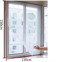 Tirai Jendela / Tirai Anti Nyamuk Window Curtain VELCRO Seal Murah