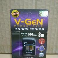 V-GeN Micro SD 8 GB Turbo Memory Card   VGeN MicroSD 8GB Turbo
