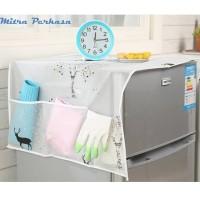 Refrigerator Dust Cover Tutup Taplak Sarung Penutup Kulkas Lemari Es