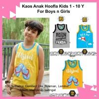 Kaos Oblong Singlet Anak Laki Hoofla Kids Distro Adem Nyaman Original