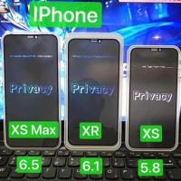 ANTI GORES TEMPERED GLASS ANTI SPY IPHONE XS / XS MAX / XR