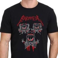 Kaos Oblong Distro Baby Metal Rock Band Metal T Shirt