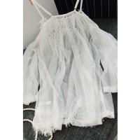 BLAKE Sexy Lingerie Big Size Plus Size Panties Transparan White Putih