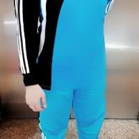 Setelan Kaos Baju Training Olahraga Lengan Panjang Celana Kaos Seragam