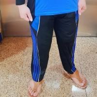 Celana Training Olahraga Panjang Setelan Kaos Lari SKJ Acara Seragam