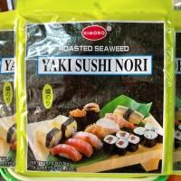 Kimono Yaki Sushi Nori Roasted Seaweed rumput laut 10 sheets