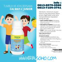 Calway-C Junior utk Pertumbuhan Tulang Anak (60 tablet)