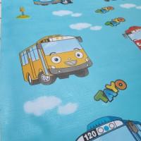 Wallpaper Kartun Tayo 45cm x 10m • Wallpaper Sticker Dinding