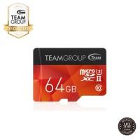 TEAMGROUP Xtreem MicroSDXC 64GBUHS-II U3 + Adapter