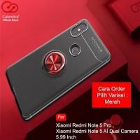 Calandiva Ultimate Ring Case Xiaomi Redmi Note 5 AI Dual Camera - Mera