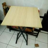 Meja Makan Cafe Meja Lipat Jualan 50x40 cm