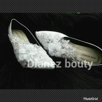 sepatu pengantin wanita high heels handmate brukat wedding murah