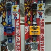 Jam Tangan Transformers Jam Robot Transfomers Jam Mainan jgk