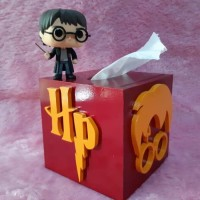 Tissue Box Kotak Tisu Harry Potter