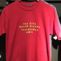 Kaos Thanksinsomnia (merah+words)