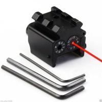 PROMO Tactical Red Dot Laser Sight 650nm Picatinny Mount Bergaransi