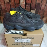 SEPATU ADIDAS YEZZY BOOST 500 UTILITY BLACK UNAUTHORIZED AUTHENTIC