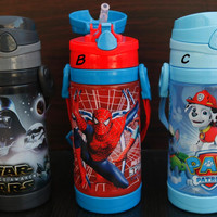 BOTOL MINUM SEDOT SUPER HERO BPA FREE 450 ML (20X5)