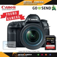 Canon EOS 5D Mark IV Kit 24-70mm F4.0L IS USM - Hitam