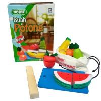Nobie Buah Potong Seri (dus) / Mainan Kayu Anak Edukasi