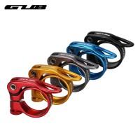 Seat Post clamp alumunium alloy GUB - seat post sepeda size 34.9 mm