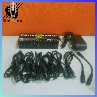 Caline CP-05 Power Supply Pedal Daya Listrik 9 V 12 V 18 V 10 Output