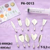 PA-0013 Puding art pudding art jelly art suntikan puding bunga