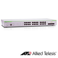 Allied Telesis AT-GS924M 20 port switch 4 combo ports 1 standar AC psu