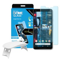 Whitestone dome full adhesive tempered glass for Google Pixel 2XL