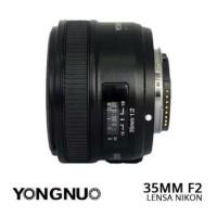 FREE LENSHOOD DAN UV FILTER LENSA YONGNUO 35mm F2 FOR NIKON
