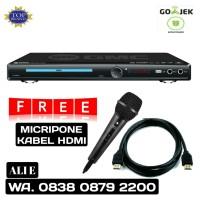 GMC BM-088B Dvd Player HDMI Suport Usb (Free Mic & HDMI kabel)