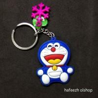 Gantungan Kunci Doraemon Bahan Karet