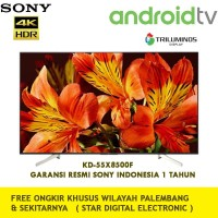 SONY KD-55X8500F UHD 4K Triluminos Smart Android LED TV [55 In