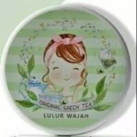 Lulur Wajah Green Tea Natural Green 120 Gr