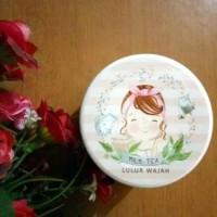 Lulur Wajah Milk Tea Natural Green 120 gr