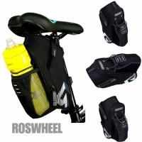 Tas Sepeda Roswheel Dengan Tempat Botol / Tas Sadel Sepeda Waterproof