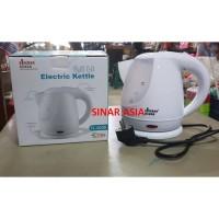 Teko listrik/Saringan Teh-Kopi Plastik 0.8/0,8 Lt Liter Cyprus TL-0228