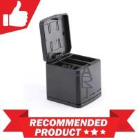 TELESIN Charger Baterai 3 Slot Storage Box for GoPro Hero 5/6