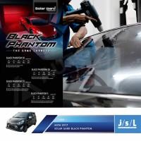 Kaca Film New Agya Ayla Solar Gard Black Phantom Series Full Paket