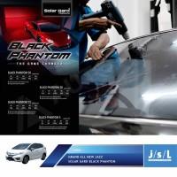 Kaca Film Honda Jazz Solar Gard Black Phantom Series Full Paket