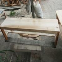 Kursi kayu panjang ukuran 120x30x45
