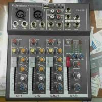 Mixer audio f4 usb 4ch