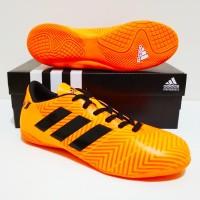 Grade Import SEPATU FUTSAL Adidas NEMEZIZ Messi 18 IC (Orange Black)