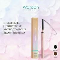 Wardah instaperfect geniustwist brow - brushed ( pensil alis matic)