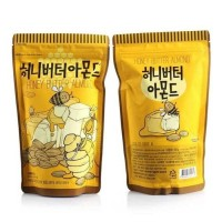 Tom's Farm Honey Butter Almond Kacang Madu Import Korea 250g