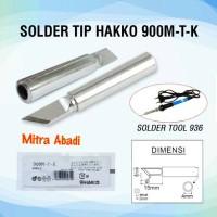 Mata Solder/Solder Tip Hakko 900M-T-K for Solder Tool 936