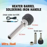 Heater Barrel Soldering Iron Handle for Solder Tool 936