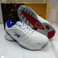 sepatu olahraga tenis spotec Dexter white nevi 38-43 original