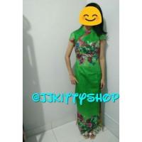 Dress Cheongsam Xincia Party Green