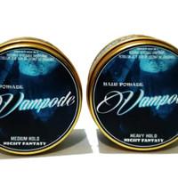 Pomade Vamode Cokelat (minyak rambut lokal beeswax original)